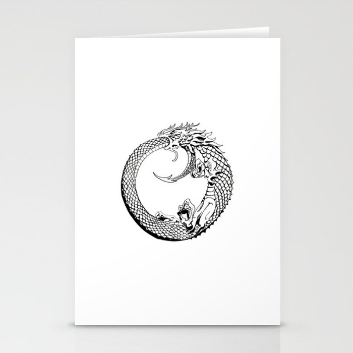 The Wyrm has Turned Stationery Cards