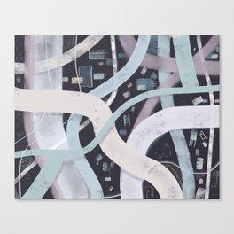 Little City Night | Inviting Canvas Print