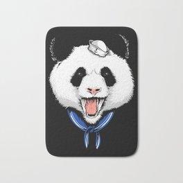 Panda Sailor Bath Mat