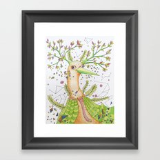 Forest's hear Framed Art Print