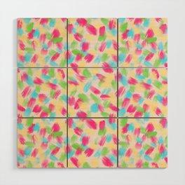 01 Loose Confetti Wood Wall Art
