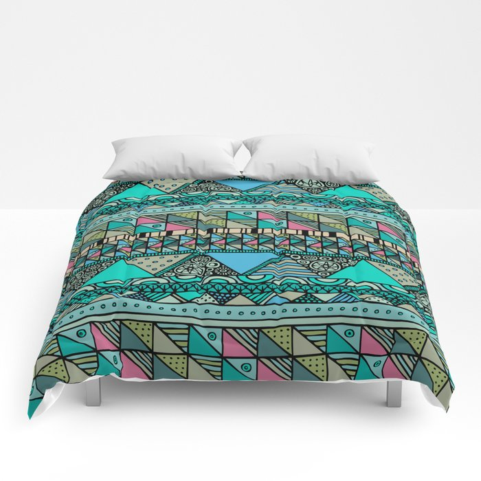 'Georganic no.7' Comforters