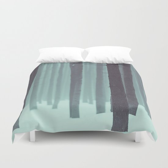 Frozen kingdom Duvet Cover