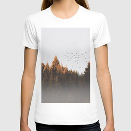 smoky forest T-shirt