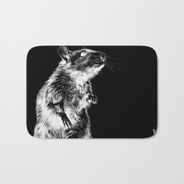 Rat | Spirit animal | Year of the rat | The plague | Wicca Bath Mat