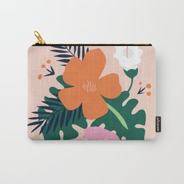 Light Spring Flowers Carry-All Pouch