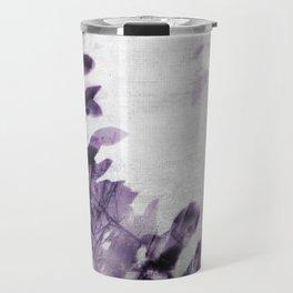 purple leaves Travel Mug