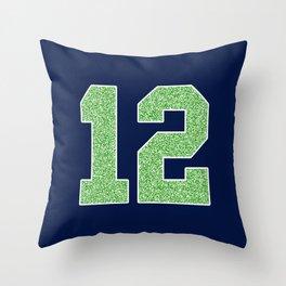 12th Man Throw Pillow