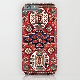 Kazak Southwest Caucasus Rug iPhone Case