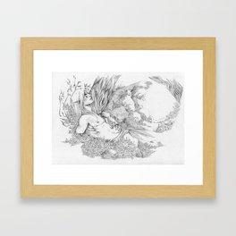 Rest In The Forest Framed Art Print
