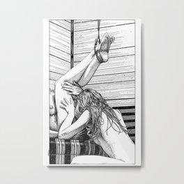 asc 685 - Les jambes en l'air (Tonight so high with you) Metal Print