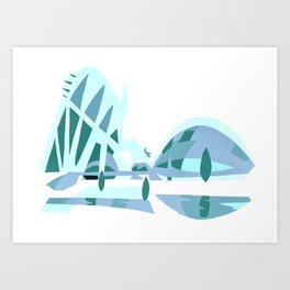 Ciudad de las artes y las ciencias Art Print