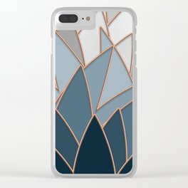 Colours of Neutral Stars Clear iPhone Case
