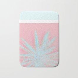 Aqua Palm Love Bath Mat