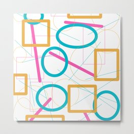 Abstract1 Metal Print