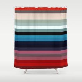 Les lignes de couleurs 03 Shower Curtain