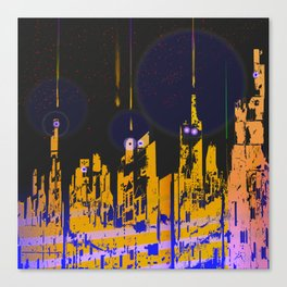 The Influencers Urban Totems Canvas Print