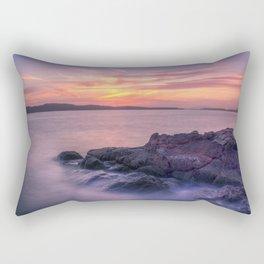 Portencross Bay Rectangular Pillow