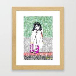 Girl 500 Framed Art Print