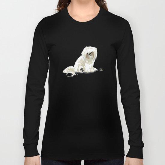 Mugsy the Shih Tzu Long Sleeve T-shirt