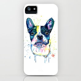 French Bulldog - Juno the Frenchton iPhone Case