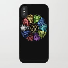 Magic the Gathering - Faded Guild Wheel iPhone Case