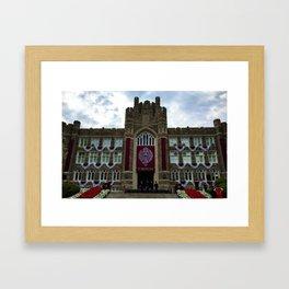 Fordham University Commencement Keating Hall Framed Art Print