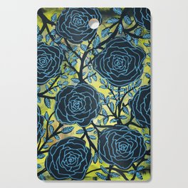 Black and Blue Cutting Board
