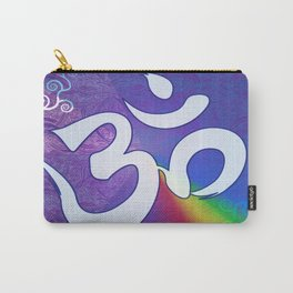 Mantra ... Aom in white Carry-All Pouch