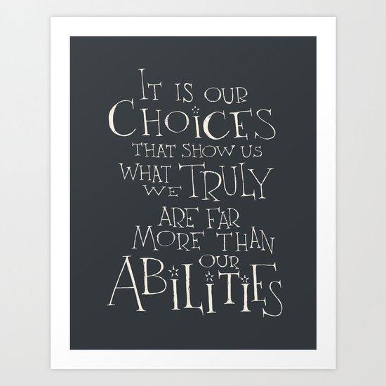 Výsledek obrázku pro it is our choices