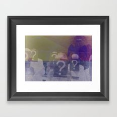 Inspector Inquisitor Framed Art Print