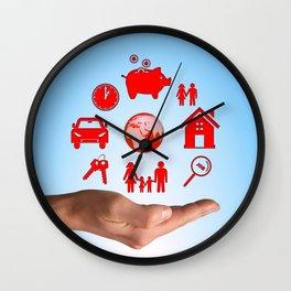 Life values Wall Clock