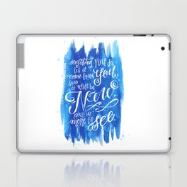 You Keep Moving On [Sunday In The Park With George] Laptop & iPad Skin