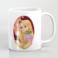 rapunzel Mugs featuring Rapunzel by Naineuh