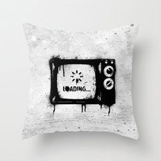 Loading... Throw Pillow