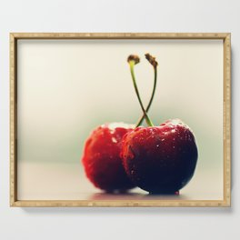 #Two #Gourmet #cherry Serving Tray