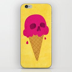 Skull Scoop. iPhone & iPod Skin