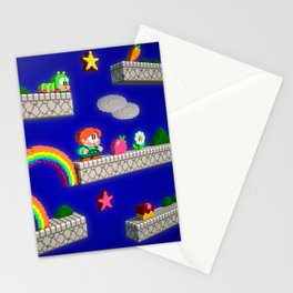 Inside Rainbow Islands Stationery Cards