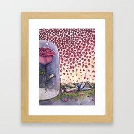 "Le Petit Prince ""Ephemeral"" Framed Art Print"