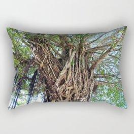 A Banyan Interlaced Rectangular Pillow
