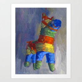 Pinata Art Print