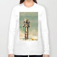 bath Long Sleeve T-shirts featuring The Bath by ioanazdralea