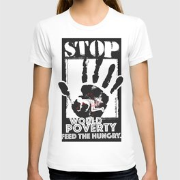 STOP POVERTY T-shirt