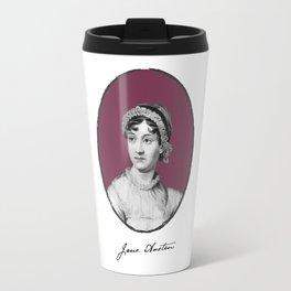 Authors - Jane Austen Travel Mug