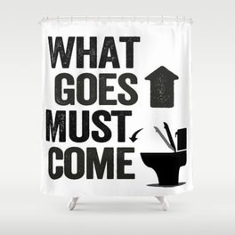 Attention MEN! Shower Curtain