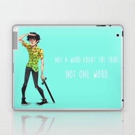 Not One Word Laptop & iPad Skin