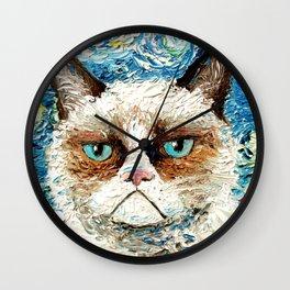 Grumpy Cat Is Still Grumpy Wall Clock