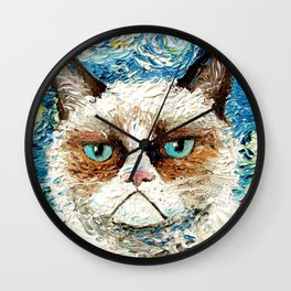 Grumpy Cat Is Still Grumpy Wall Clock