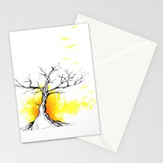 Tree of Light Stationery Cards