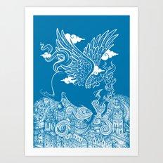 The Last Day of Pegasus Art Print